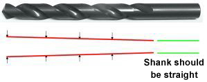 Viking Drill and Tool - Back Taper