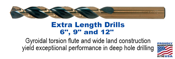 Type XGT-AG Extra Length Drill